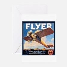 The Orange Ad Plane Greeting Cards (Pk of 10)