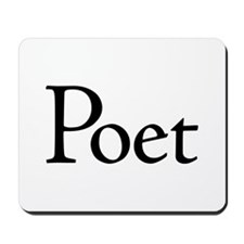 Poet Mousepad