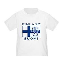 Finland Suomi Flag T