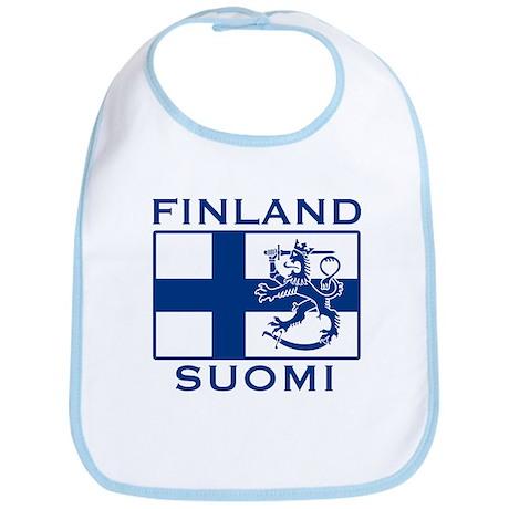 Finland Suomi Flag Bib