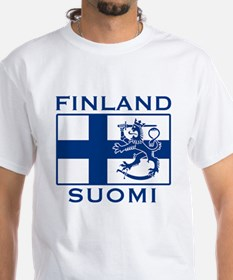 Finland Suomi Flag Shirt