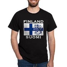 Finland Suomi Flag T-Shirt