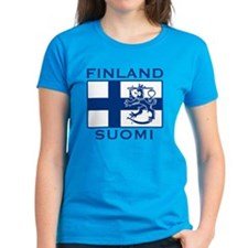 Finland Suomi Flag Tee