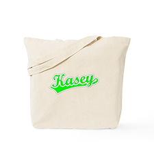 Retro Kasey (Green) Tote Bag