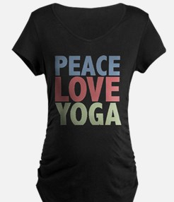 Peace Love Yoga T-Shirt