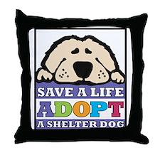 Save a Life Throw Pillow