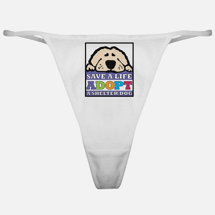 Save a Life Classic Thong
