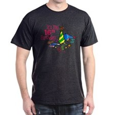 It's My 16th Birthday (Party Hats) T-Shirt