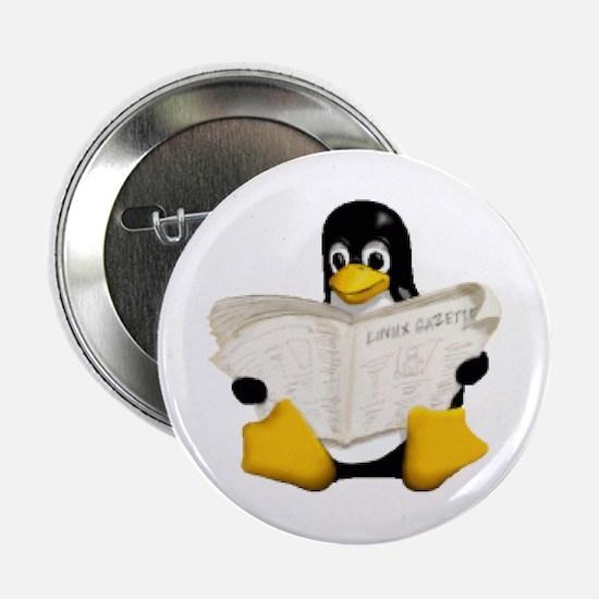 Tux - Linux Penguin Button