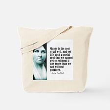 """Alcott """"Money"""" Tote Bag"""