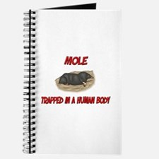 Mole trapped in a human body Journal