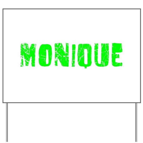Monique Faded (Green) Yard Sign
