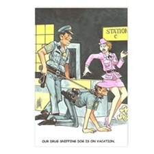 NAUGHTY CARTOON Postcards (Package of 8)