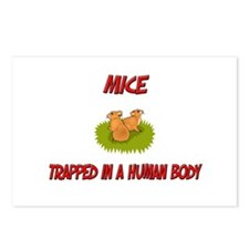 Mice trapped in a human body Postcards (Package of