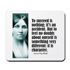 """Alcott """"To Succeed"""" Mousepad"""