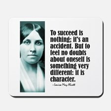 "Alcott ""To Succeed"" Mousepad"