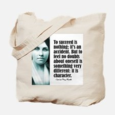 """Alcott """"To Succeed"""" Tote Bag"""