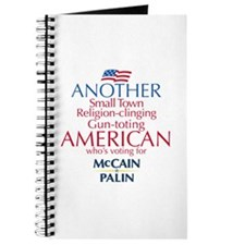 Small Town American for McCain Palin Journal