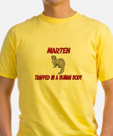 Marten trapped in a human body T