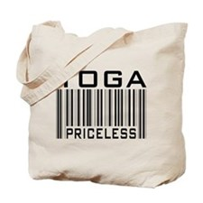 Yoga Priceless Bar Code Tote Bag