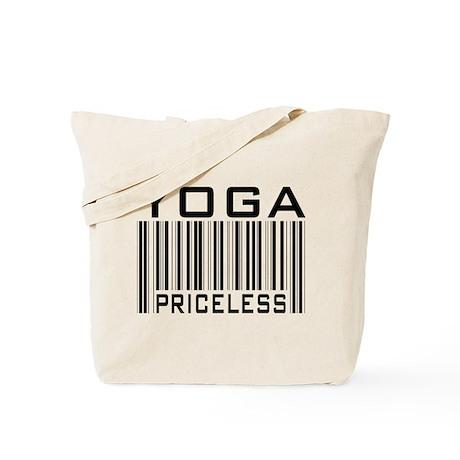 Yoga Priceless Bar Code Tote Bag