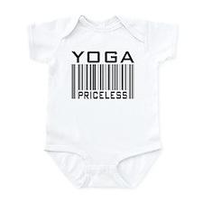 Yoga Priceless Bar Code Infant Bodysuit