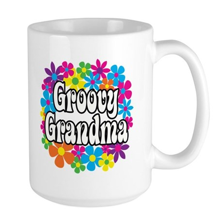 Groovy Grandma Large Mug