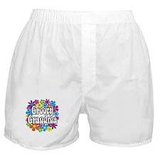 Groovy Grandma Boxer Shorts