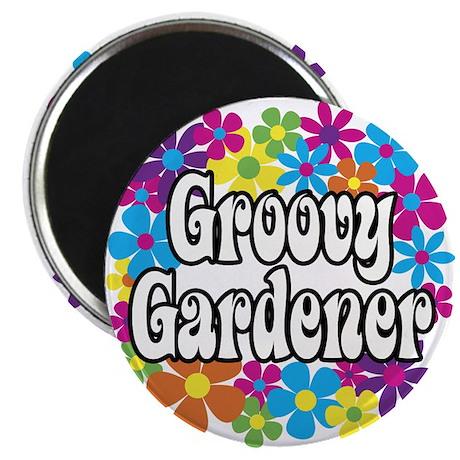 """Groovy Gardener 2.25"""" Magnet (100 pack)"""