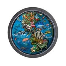 Cool Animal planet Wall Clock