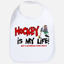 Hockey is my life -player Bib