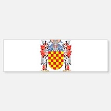 Tejada Coat of Arms - Family Crest Bumper Bumper Bumper Sticker