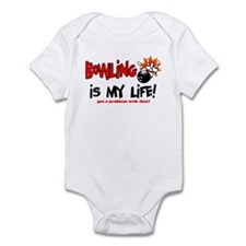 Bowling is my Life! Infant Bodysuit