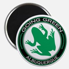 """Going Green Albuquerque Frog 2.25"""" Magnet (10 pack"""