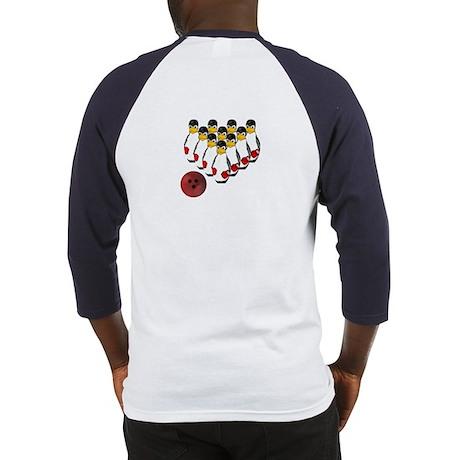 Tux - Linux Bowling Pins Baseball Jersey