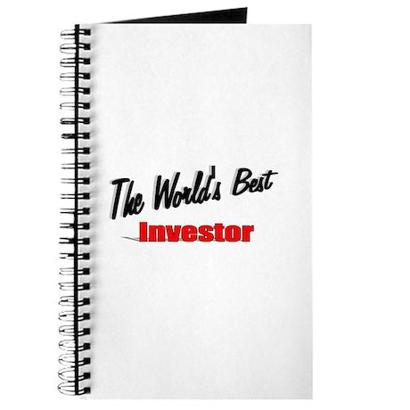 """The World's Best Investor"" Journal"