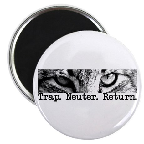 Trap. Neuter. Return. Cat Eye Magnet