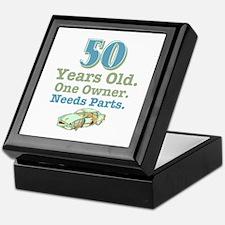 Needs Parts 50 Keepsake Box