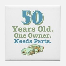 Needs Parts 50 Tile Coaster