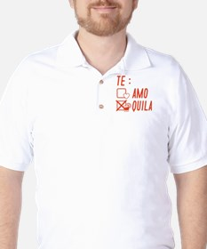 Te AmoTe Quila Golf Shirt