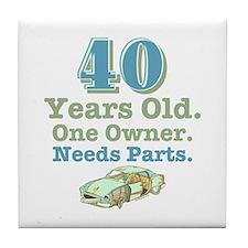 Needs Parts 40 Tile Coaster