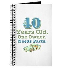 Needs Parts 40 Journal