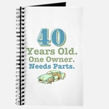 Needs Parts 40 Journal