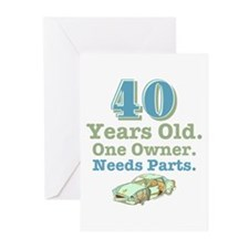 Needs Parts 40 Greeting Cards (Pk of 20)