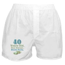 Needs Parts 40 Boxer Shorts