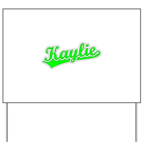 Retro Kaylie (Green) Yard Sign