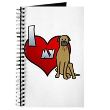 Love Bullmastiff Journal