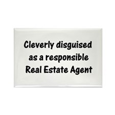 Real Estate Agent Rectangle Magnet (10 pack)