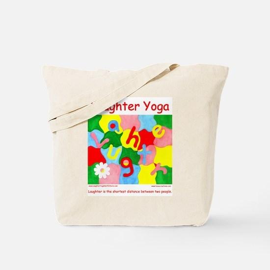 Laughter Yoga Tote Bag