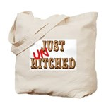 Just UnHitched! Tote Bag